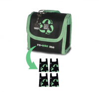 Reusable bag 4-Pack Footprint Bag - Green Original